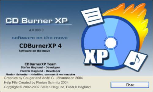 CDBurnerXP, grabar en CD y grabar en DVD