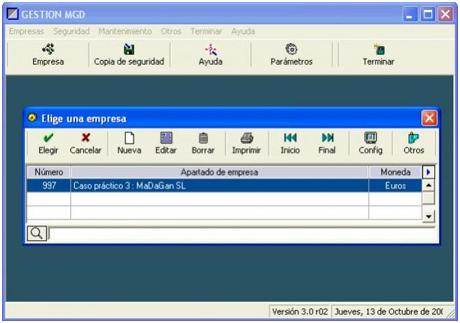 Programa de contabilidad gratis, Gestion MGD