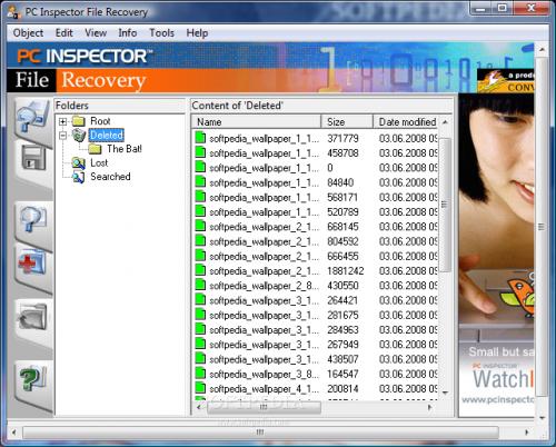 Recuperar archivos eliminados o borrados