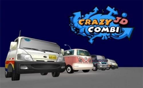 juego de carreras coches y carros con Crazy Combi 3D