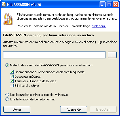 FileAssasin en español