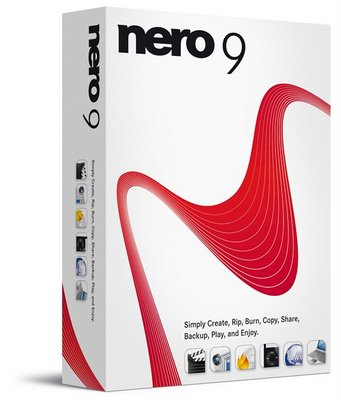 Nero 9, grabar CD y DVD