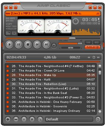Reproductor de musica AIMP