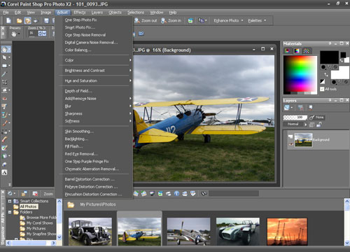 fotos imagenes Corel PaintShop Pro Photo