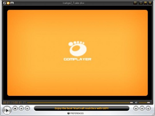 reproductor video GOM Media Player