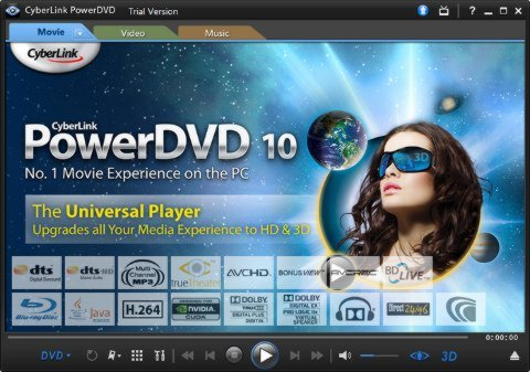 Power DVD y Blu-Ray