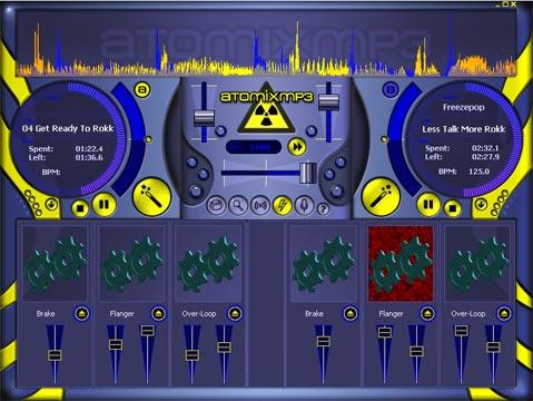atomix mp3 mezclador pc para dj
