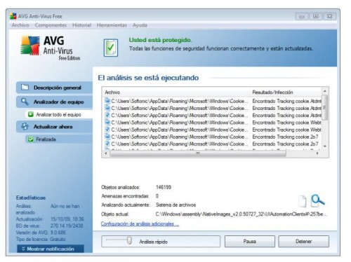 Antivirus gratis en español