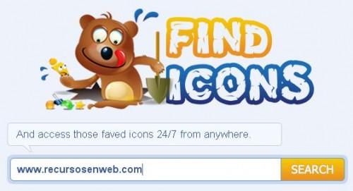 Buscador de iconos