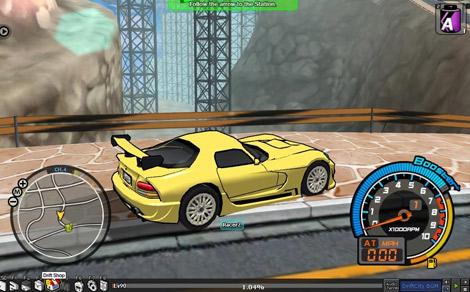 Drift City, juego de coches de carreras online gratis