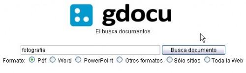 Gdocu buscador archivos pdf doc docx