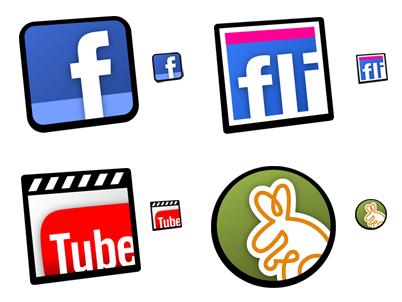 descargar iconos redes sociales