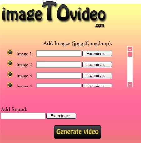 Crear un video con imagenes y musica
