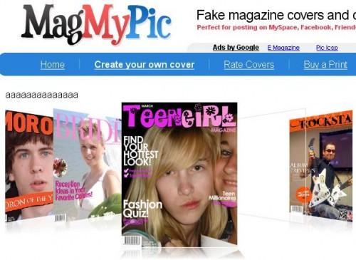 tus fotos en revistas de portada
