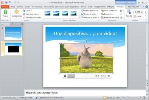 Powerpoint en Microsoft Office 2010