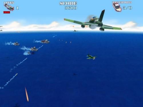 Naval Strike, juego de naves y aviones pc gratis