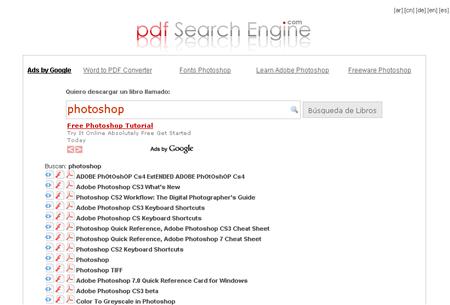 Buscar archivos en PDF