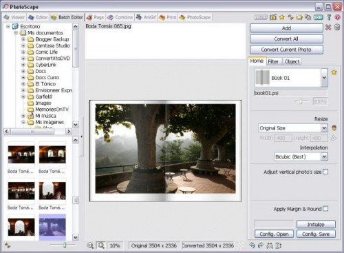 editar y retocar fotos