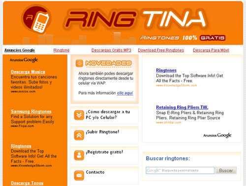 descargar ringtones gratis para celular