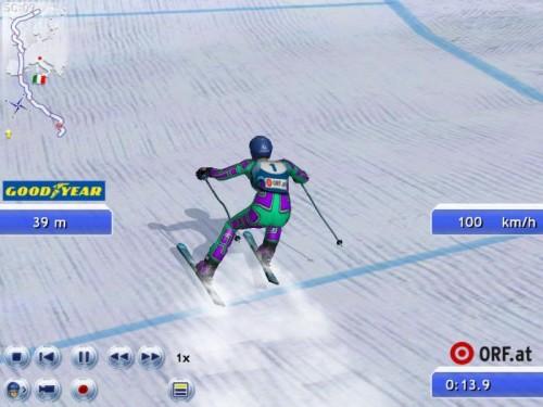 ski challenge juego esquiar nieve