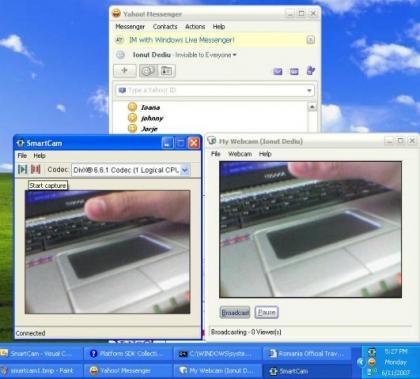 usar el movil celular como webcam