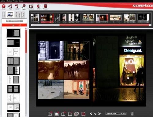 SnappyBook crear albumes de fotos