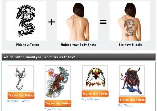 probar tatuajes online