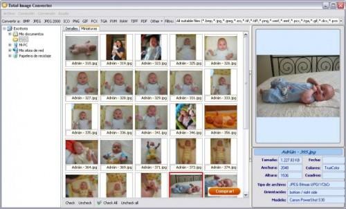 Cambiar formatos a imagenes