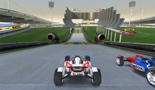 coches Trackmania Nations Forever