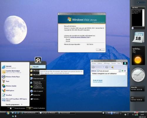 apariencia de windows xp como si fuera windows vista