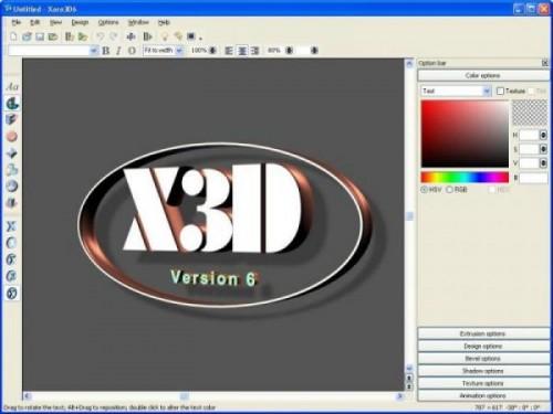 crear textos y letras en 3D