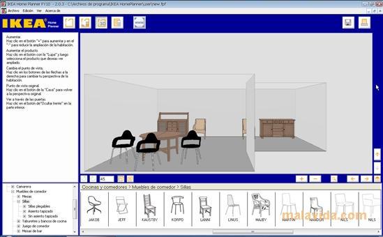 tu casa ideal IKEA Home Planner