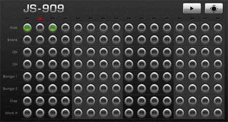 caja de ritmos drum machine js-909