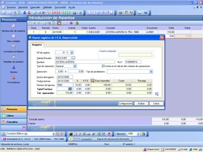 programa contabilidad pc contasol