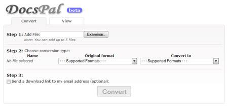 convertir tipos de archivos formatos