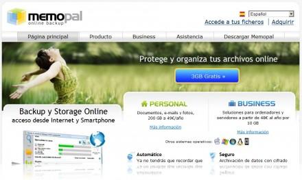 crear backups online memopal