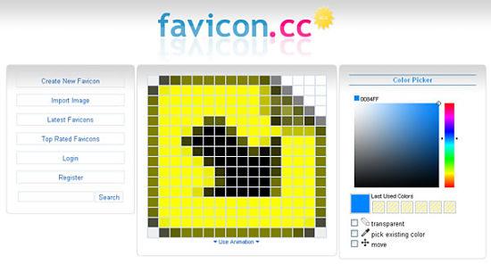 crear favicon online