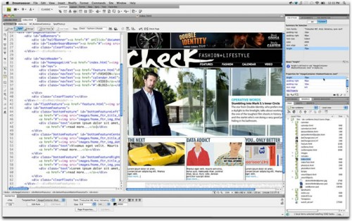 Crear p ginas web con dreamweaver cs4 Crear website