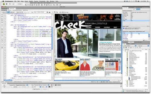 crear paginas web dreamweaver