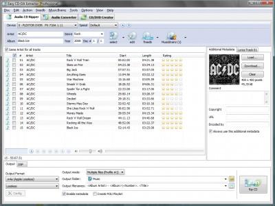 extraer cd musica convertir mp3