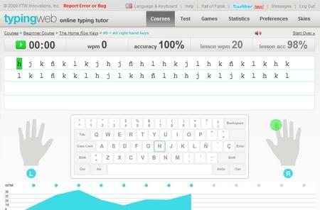 mecanografia escribir mas rapido teclado pc