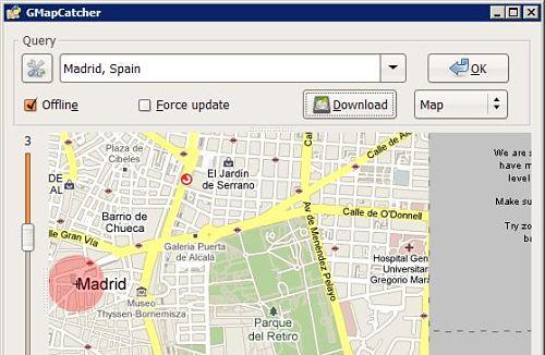 mapas google maps sin internet offline