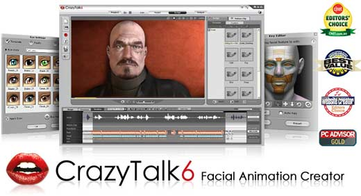 crazy talk 6 voz movimiento fotos
