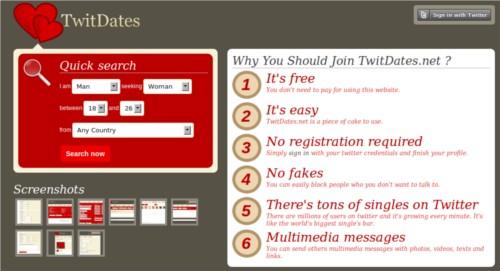 buscar pareja twitter twitdates