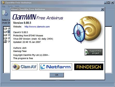 ClamWin Antivirus gratis