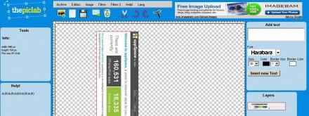 editar imagenes online thepiclab