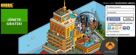 Habbo Hotel chat