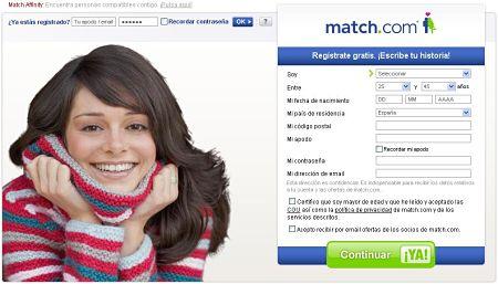 match.com buscar pareja