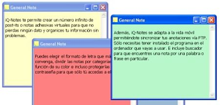 notas post-it pc iq-notes