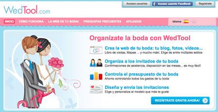 organizar boda por internet wedtool